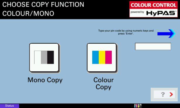 Permettere solo a pochi di stampare a colori? Si può….