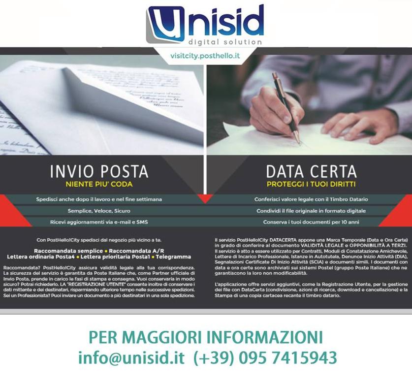Vuoi datare i tuoi documenti in maniera semplice? PostHello!!!